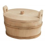 Cofa din lemn cu capac 25x17 cm