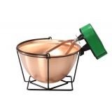 Ceaun din cupru cu malaxor 7,5 litri