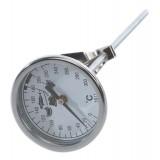 Termometru pentru prajire, cu sonda si cadran
